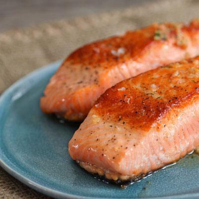 Keto foods - salmon