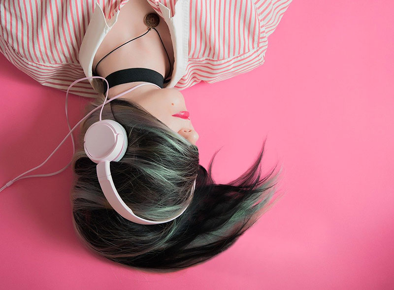 Music can bring a stress relief