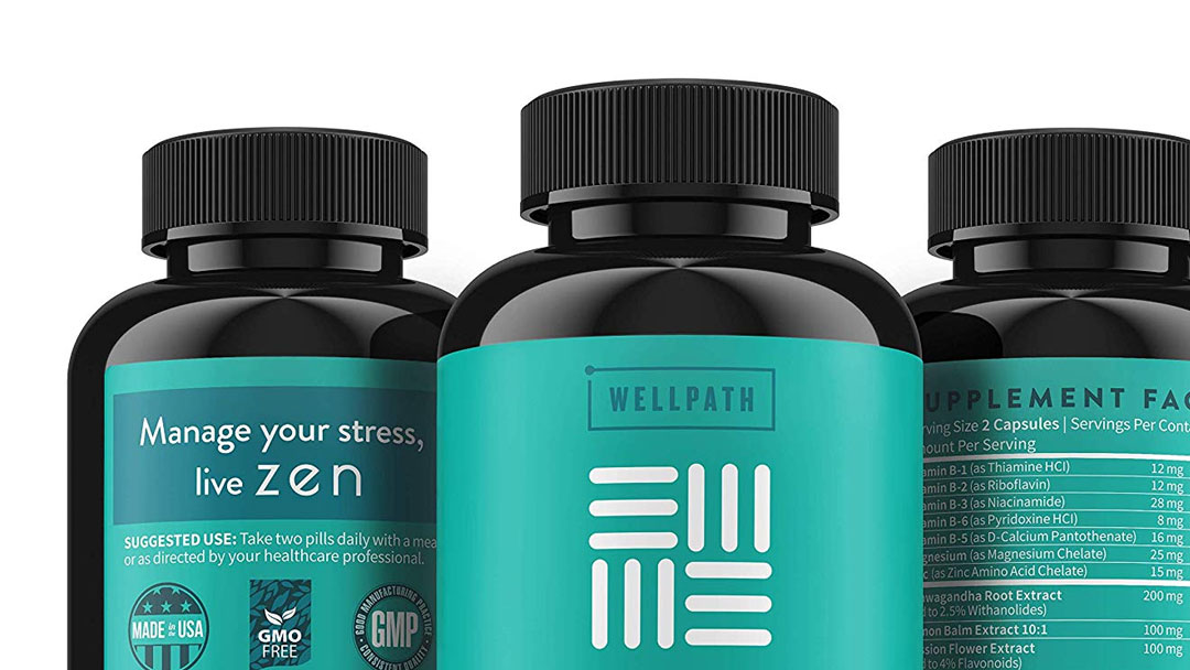 Stress Relief Supplement – Wellpath Zen Anxiety and Stress Relief